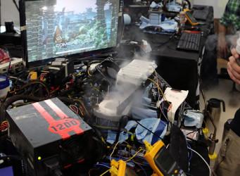 Nuevo récord en 3DMark 11 gracias a 4 GeForce GTX 680