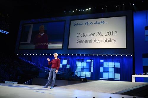 Microsoft confirma el lanzamiento de Windows 8 para el 26 de Octubre