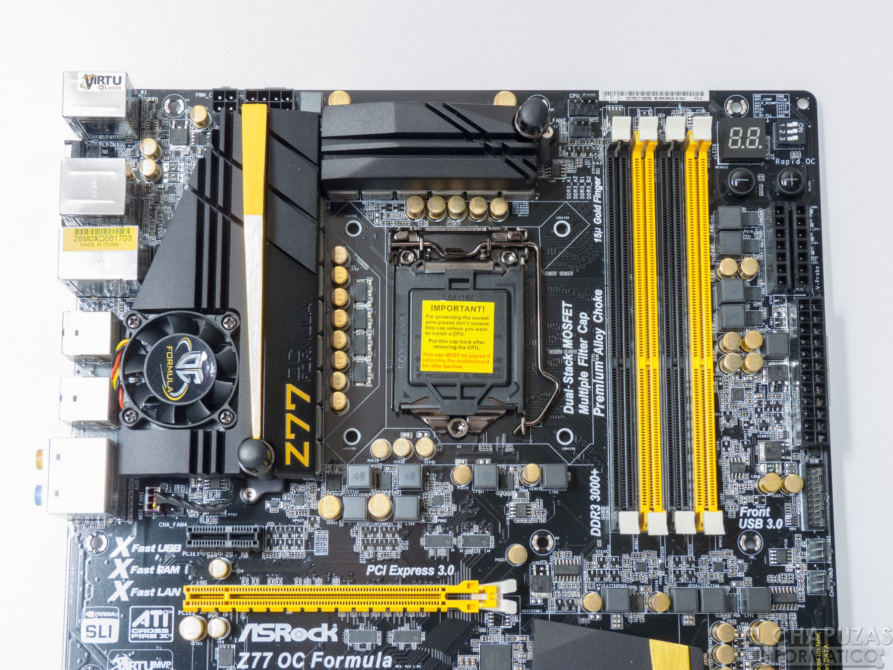 Review: ASRock Z77 OC Formula