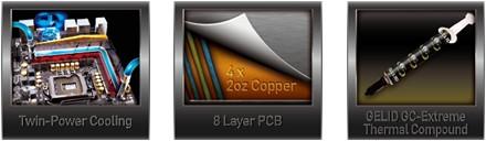 ASRock Z77 OC Tecnologias Kit Refrigeracion 2