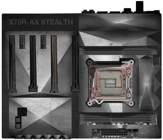 ECS X79R AX Stealth 619x532 ECS muestra la X79R AX Stealth