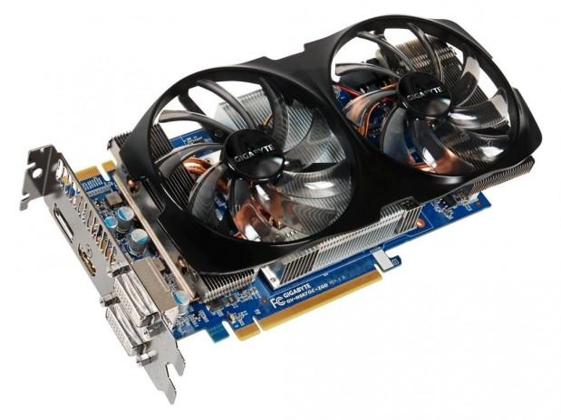 GIgabyte GTX 660Ti WindForce 2X 1 619x464 Gigabyte GeForce GTX 660 Ti OC WindForce 2X en imágenes