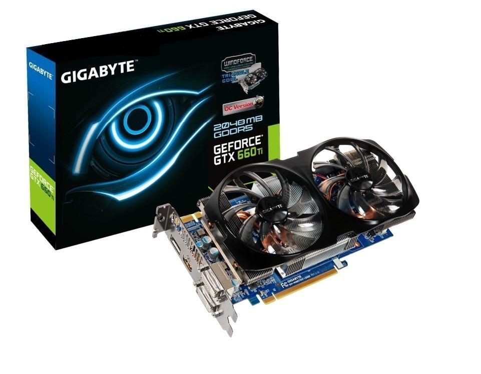 GIgabyte GTX 660Ti WindForce 2X Gigabyte GeForce GTX 660 Ti OC WindForce 2X en imágenes