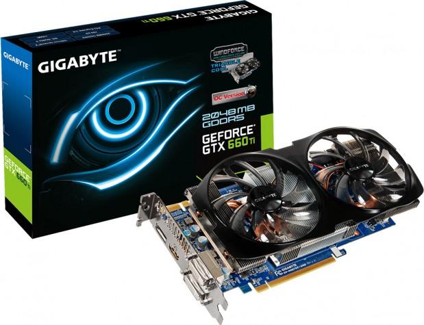 Gigabyte GeForce GTX 660 Ti WindForce 2X OC 619x475 Gigabyte lanza la GeForce GTX 660 Ti WindForce 2X