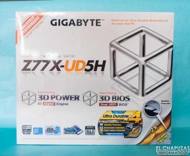 Gigabyte Z77X UD5H 01 619x509 Review: Gigabyte GA Z77X UD5H