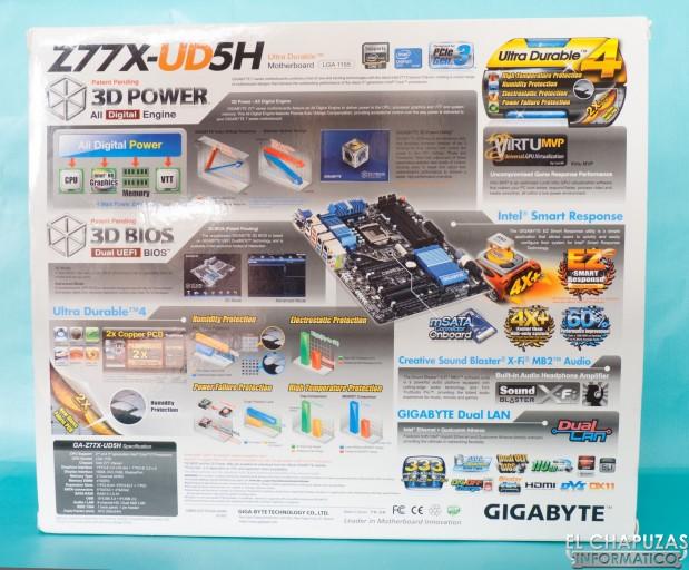 Gigabyte Z77X UD5H 02 619x512 Review: Gigabyte GA Z77X UD5H