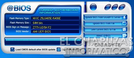 Gigabyte Z77X UD5H Software @Bios Review: Gigabyte GA Z77X UD5H