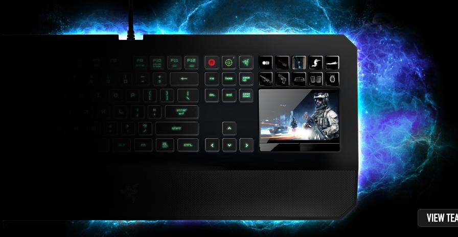 Razer anuncia el teclado Gaming DeathStalker Ultimate