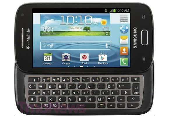 Samsung Galaxy S Blaze Q Filtrado el Samsung Galaxy S Blaze Q, el Galaxy S III con teclado QWERTY