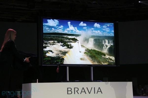 IFA 2012 – Sony Bravia KD-84X9005 con 84 pulgadas y 4K de resolución