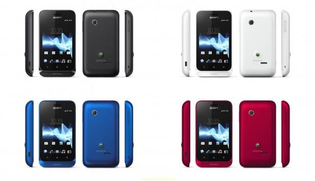 Sony Xperia Tipo 3 619x355 Catálogo Movistar Agosto 2012: Llega el Sony Xperia Tipo