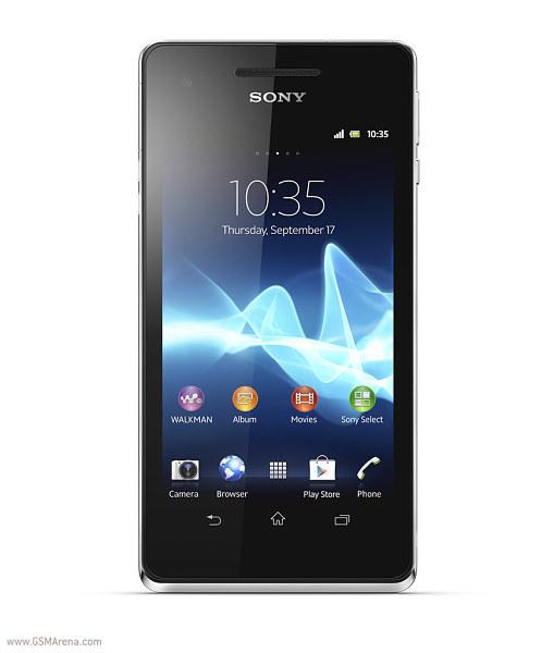 Sony Xperia V IFA 2012   Sony anuncia sus nuevos smartphones Xperia T, TX, V y J