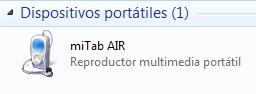 Wolder miTab Air 16 Conexion PC 16