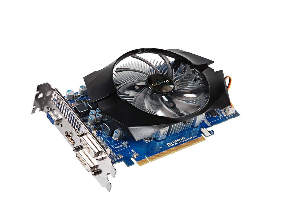 Gigabyte HD 7750 OC 2GB GDDR3 (GV-R775OC-2GI) (2)