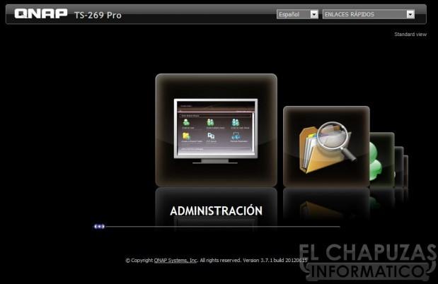 lchapuzasinformatico.com wp content uploads 2012 09 QNAP TS 269 Pro 04 Menu Configuracion 01 619x402 49