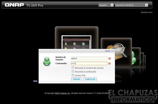 lchapuzasinformatico.com wp content uploads 2012 09 QNAP TS 269 Pro 04 Menu Configuracion 02 619x408 50