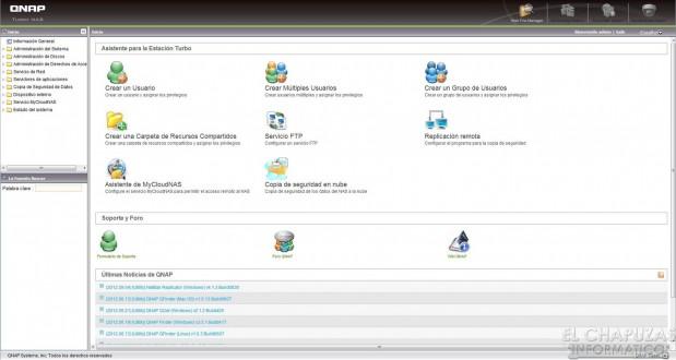 lchapuzasinformatico.com wp content uploads 2012 09 QNAP TS 269 Pro 05 Menu Administracion General 619x330 54