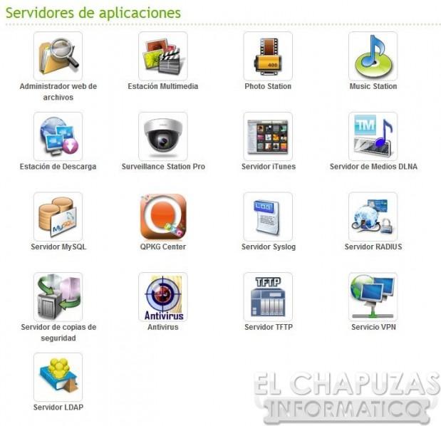 lchapuzasinformatico.com wp content uploads 2012 09 QNAP TS 269 Pro 05.5 aplicaciones 619x598 59