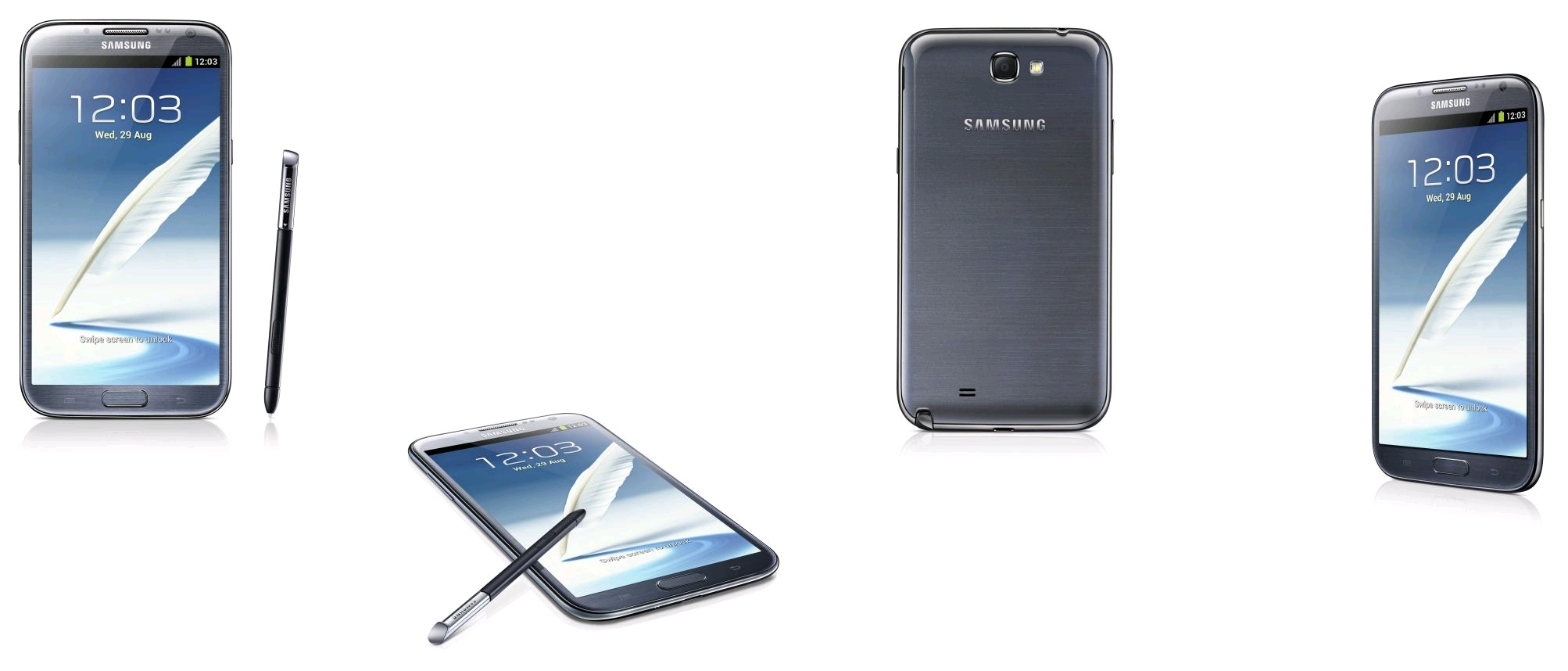 Samsung Galaxy Note II Gris