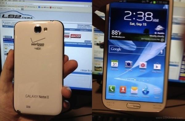 Supuesto Samsung Galaxy Note II en imágenes