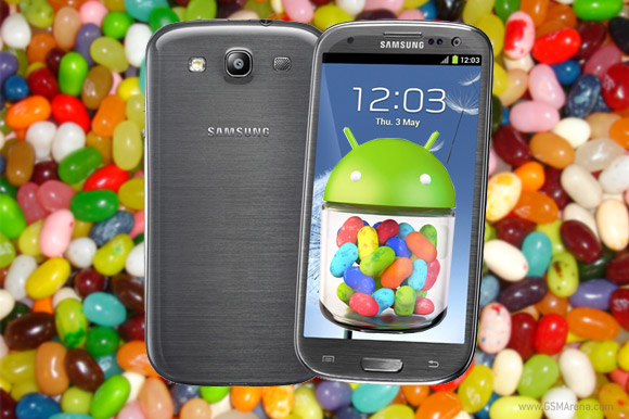 Samsung Galaxy S III Android 4.1 Jelly Bean