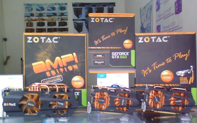 Zotac GTX 680 AMP!, GTX 660 Ti AMP! y GTX 660 AMP!