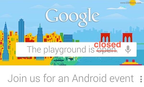 Se cancela la presentación del Nexus 4 y la Nexus 10