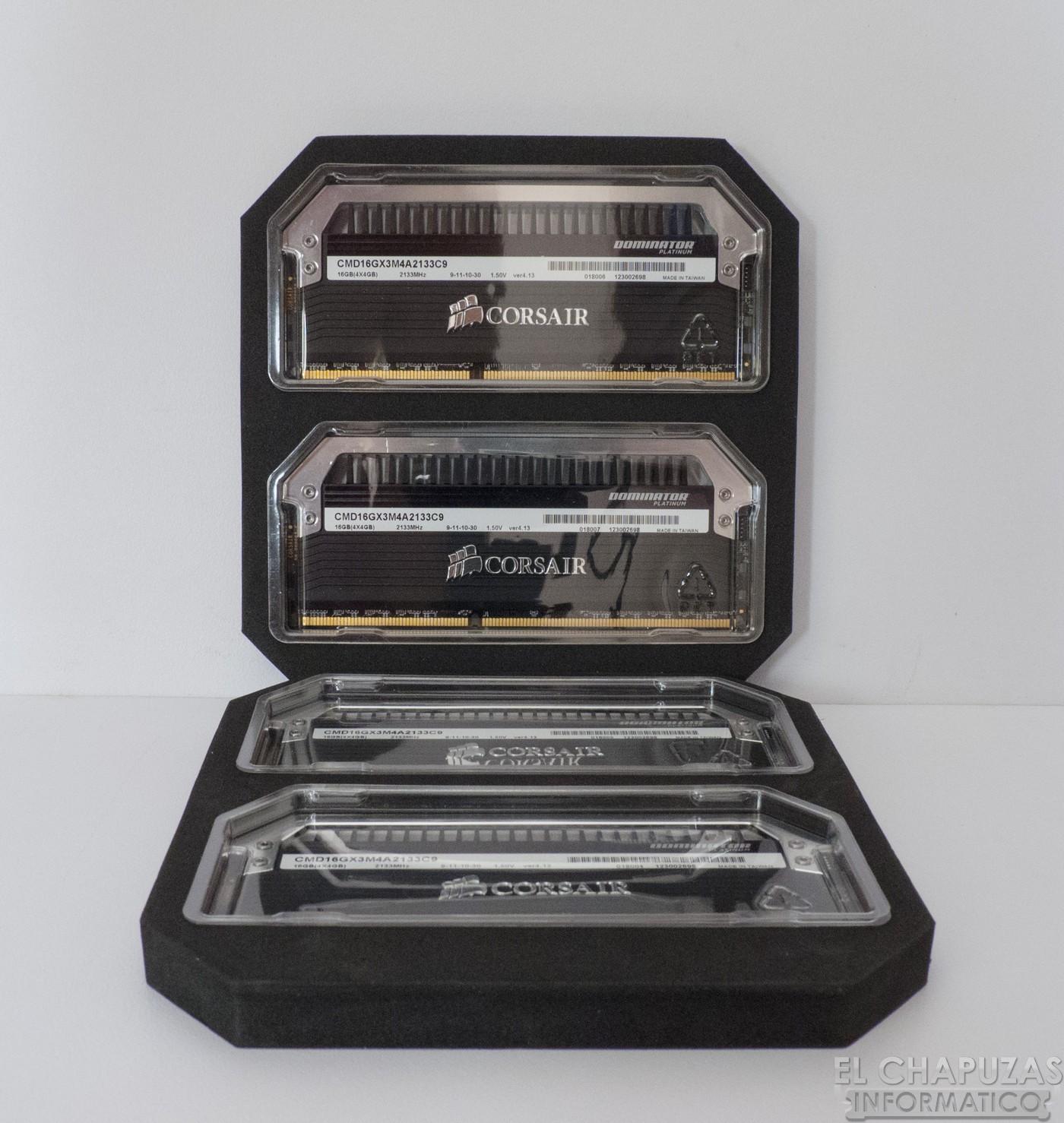 Review: Corsair Dominator Platinum 2133 MHz CL9 16 GB