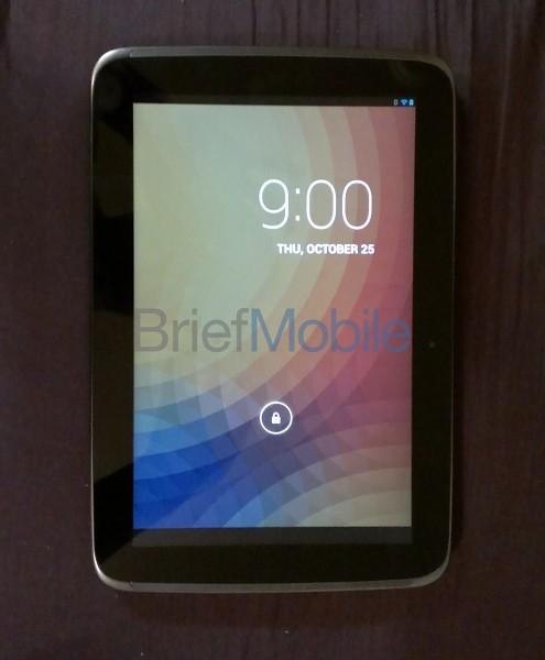 La Google Nexus 10 se muestra en vídeo