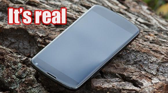 LG confirma alguna de las especificaciones del Nexus 4