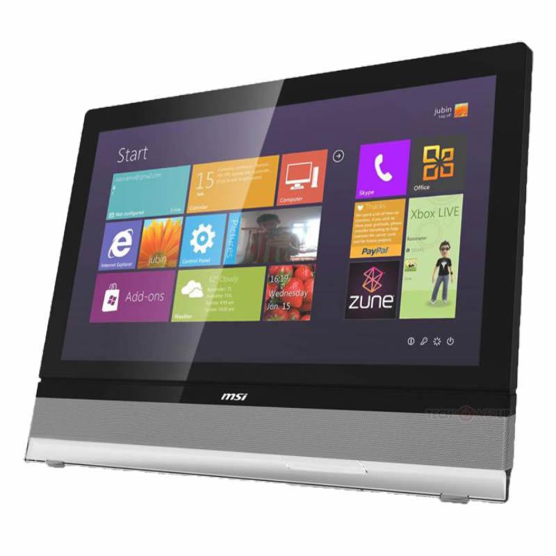 AIO MSI AE2712 con Windows 8 en imagen