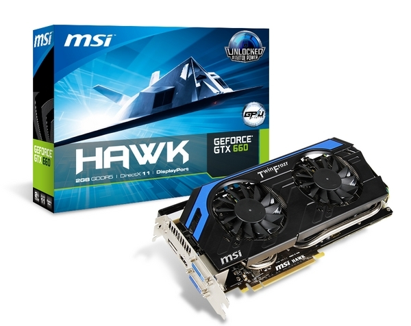 MSI lanza la GeForce GTX 660 HAWK