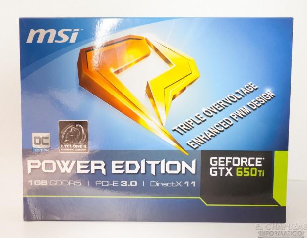 lchapuzasinformatico.com wp content uploads 2012 10 MSI GeForce 650 Ti OC Power Edition 01 619x481 2