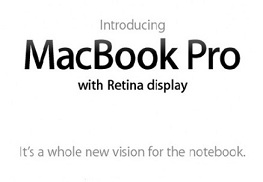 Apple lanza el nuevo MacBook Pro de 13″ con pantalla Retina Display