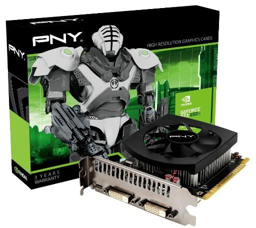 PNY lanza su GeForce GTX 650 Ti