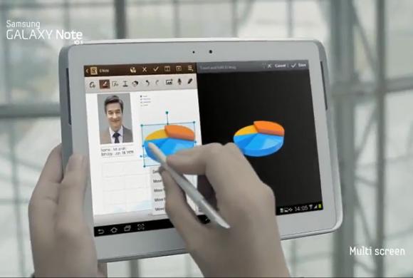 Samsung dotaría a su Galaxy S III con sistema Multi-Pantalla