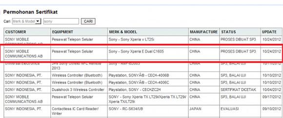 Filtrados los Sony Xperia E y Xperia E Dual