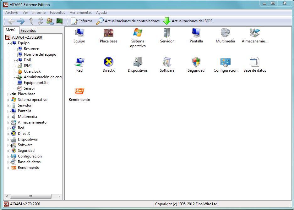 FinalWire lanza Aida64 2.70