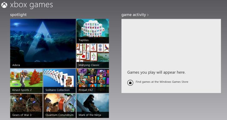 Microsoft incorporará nuevos juegos en Windows 8