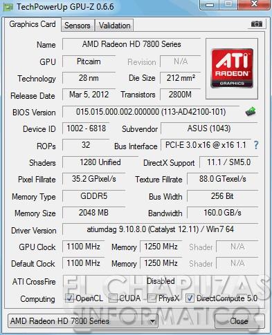 lchapuzasinformatico.com wp content uploads 2012 11 Asus HD 7870 DirectCU II Top GPU Z 31