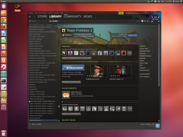 Beta de Steam para Linux (2)