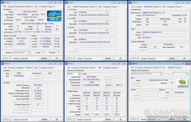 lchapuzasinformatico.com wp content uploads 2012 11 Gigabyte Z77X UP5 TH Software CPU Z 619x398 60