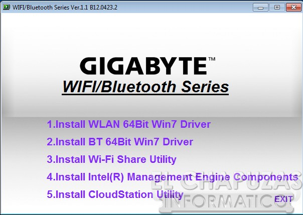 lchapuzasinformatico.com wp content uploads 2012 11 Gigabyte Z77X UP5 TH Software Drivers WiFi 52