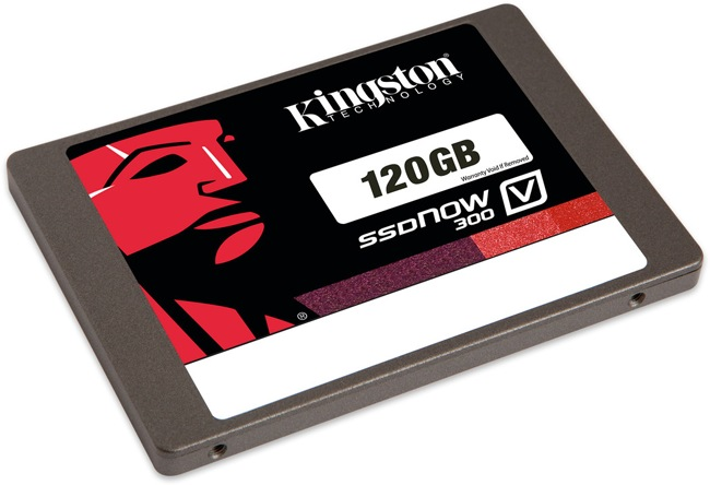 Kingston lanza su SSDNow V300