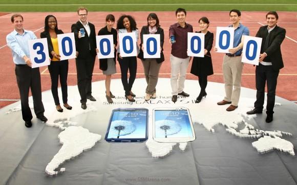 Samsung Galaxy S III 30 millones