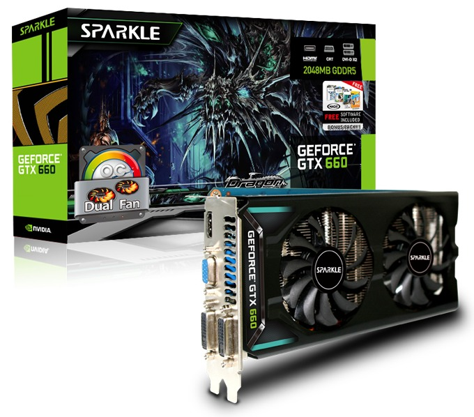 Sparkle lanza sus GeForce GTX 650/GTX 660 Dual-Fan