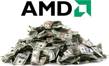 AMD cerró el trimestre con 74 millones de dólares en pérdidas