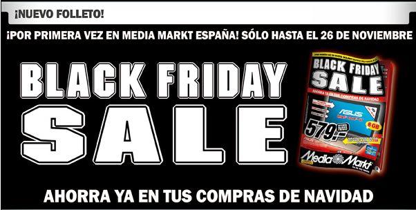Media Markt ofrece 4 días de descuentos con motivo del Black Friday