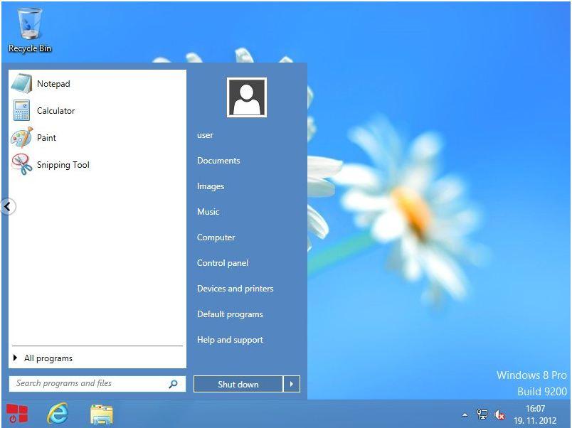 StartW8 trae el Menú de Inicio a Windows 8 de forma gratuita