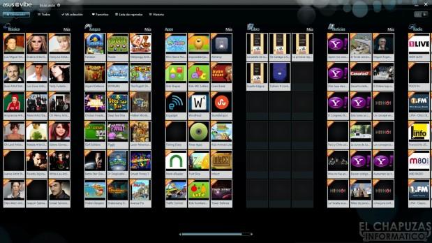 lchapuzasinformatico.com wp content uploads 2012 12 Asus EeeBox 1505 Sofware Vibe Fun Center 619x348 23